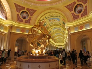 """Sistine Chapel"" main hall at Venetian"