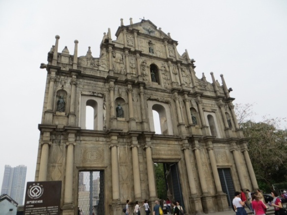 All that remains of St. Paul's, Macau